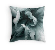 Flowing Blue Throw Pillow