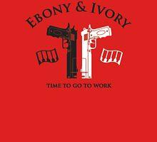 Ebony and Ivory Unisex T-Shirt