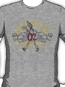 Wizard of Oz Inspired - Tin Man Oz Tree Service T-Shirt