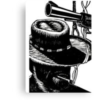 Clint Eastwood - Western Canvas Print