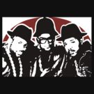 RUN DMC Hip Hop Rap Pop Art by artisu