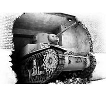 M3A1 Stuart Photographic Print