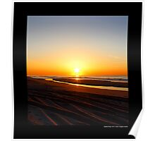 Fire Island National Seashore Sunrise - Smith Point, New York Poster