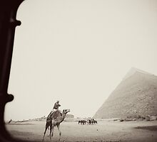 Giza - from my series Out My Window by Paula Burgoon