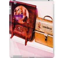 """The bag and lunchbox, a child!"" iPad Case/Skin"
