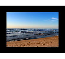 Atlantic Ocean Beach - Fire Island, New York Photographic Print