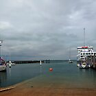 Yarmouth Harbour from the Slipway by Rod Johnson