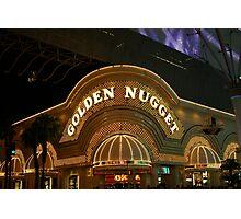 Golden Nugget Photographic Print