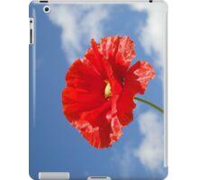 The Single Poppy iPad Case/Skin