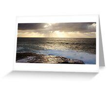 Sunrise Over Sea Greeting Card
