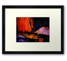Grateful Colours... Framed Print