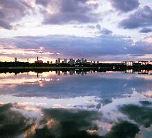 Sunset, Boston, July 2012 by jenjohnson1968