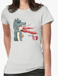 Little RED Womens Fitted T-Shirt