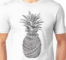 Pineapple Wrap | black & white Unisex T-Shirt