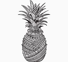 Pineapple Wrap | black & white Unisex T-Shirt