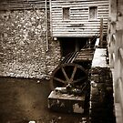 Water Wheel - West Point on The Eno, Durham, NC, USA by Sanguine