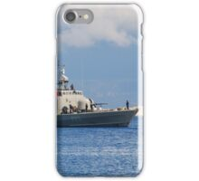 Mykonios missile boat, Halki iPhone Case/Skin