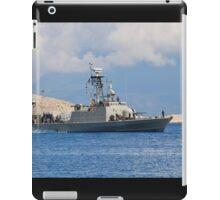 Mykonios missile boat, Halki iPad Case/Skin