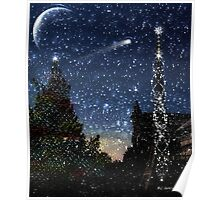 Christmas Baroque Poster
