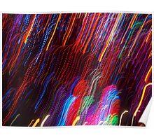neon wavelength Poster