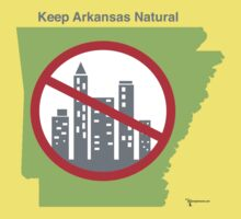 Keep Arkansas Natural (green) Kids Clothes