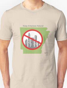 Keep Arkansas Natural (green) Unisex T-Shirt
