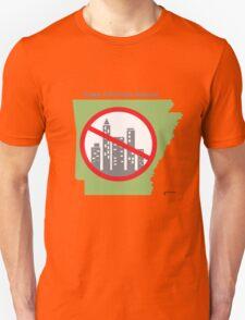 Keep Arkansas Natural (green) T-Shirt