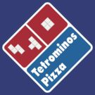 Tetrominos Pizza by byway