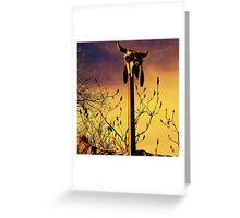 Metamorphosis Greeting Card