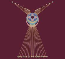 Fringed Medallion by Jean Gregory  Evans