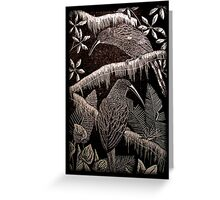 Birds in Jungle Greeting Card