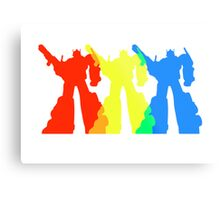 Optimus Prime Colors Metal Print