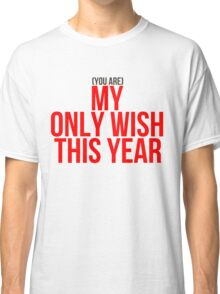 Britney Spears - (You are) My Only Wish This Year | Christmas Limited edition Classic T-Shirt