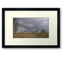 Storm Season 2013 Begins 6 Framed Print