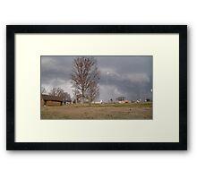 Storm Season 2013 Begins 7 Framed Print