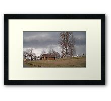 Storm Season 2013 Begins 8 Framed Print