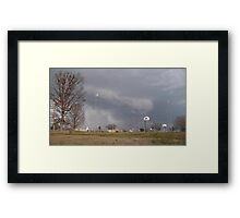 Storm Season 2013 Begins 11 Framed Print