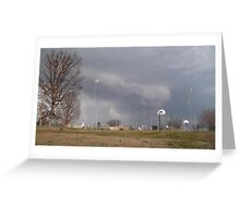 Storm Season 2013 Begins 11 Greeting Card