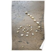 Beach Spiral Poster