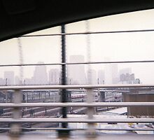 Boston in Fog, May 2012 by jenjohnson1968