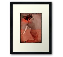 Love is ... Framed Print