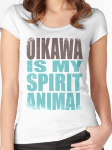 Oikawa is my Spirit Animal Women's Fitted Scoop T-Shirt