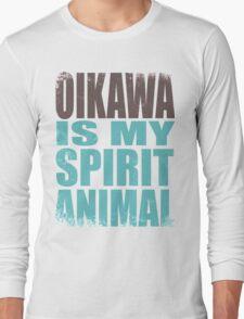 Oikawa is my Spirit Animal Long Sleeve T-Shirt