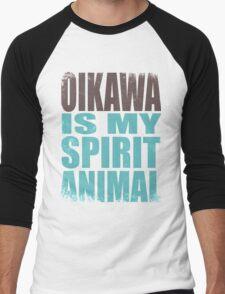 Oikawa is my Spirit Animal Men's Baseball ¾ T-Shirt