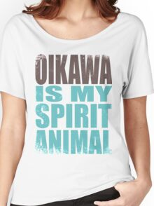 Oikawa is my Spirit Animal Women's Relaxed Fit T-Shirt