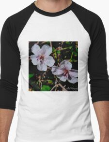 Wild Blossoms Men's Baseball ¾ T-Shirt