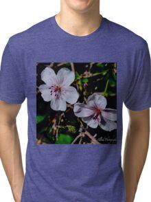 Wild Blossoms Tri-blend T-Shirt