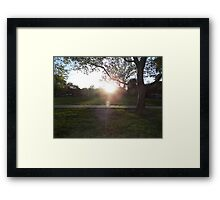 Lawrence, KS Framed Print