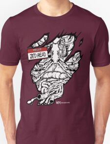 HELLO my name is ZED HEAD (dark colors) T-Shirt