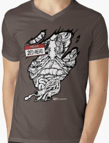 HELLO my name is ZED HEAD (dark colors) Mens V-Neck T-Shirt
